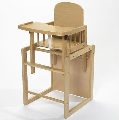 Eco Friendly Natural High Chair