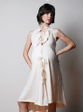 Trendy Maternity Clothes - Organic Hospital Gown