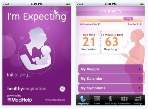 Pregnancy Apps - Pregnancy Tracker