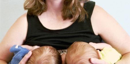 Breastfeeding Tips for Twins