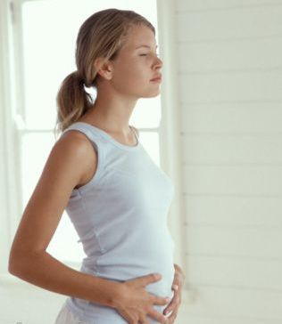 Stomach Pain Can Be Pregnant